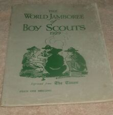 More details for the world jamboree of boy scouts 1929 souvenir - the times