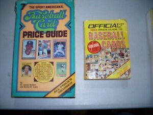 Vintage - Baseball Card Price Guide - lot of 2