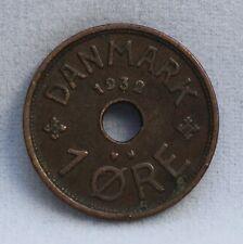 Denemarken- Denmark - 1 Ore 1932