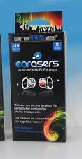 Earasers Musician's Hi-Fi Earplugs Small with free Stash-Can