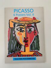 PICASSO, Vol:2, MEGA RARE 1993 AUTHENTIC TASCHEN  POSTER BOOK, SET OF 6 POSTERS