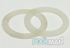 """2 Flat Gaskets used on various 2"""" Spa Heaters and Pump Unions 711-4010 711-4010B"""
