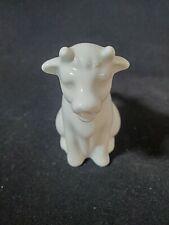 "Dansk Ceramic White cow Creamer Pitcher Individual serving 3"""