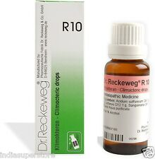 Dr Reckeweg Germany R10 Irregular Menstruation drops Homeopathic Medicine Female