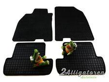 4 x Gummi-Fußmatten ☔ für RENAULT Megane III seitdem 2006
