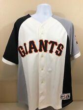 San Francisco Giants 50th Anniversary Majestic Baseball Jersey Mens XL Colorblok
