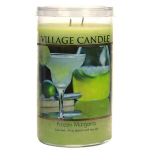 Village Candle Double Wick Large Decor Candle Jar - Frozen Margarita