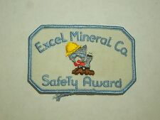 Vintage Excel mineral Co. Safety Award - Cat with Hard Hat and Boots Image