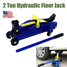 Pro 2 Ton Hydraulic Floor Trolley Jack Lifting Heavy Duty Car Van Lifting Case