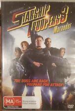 STARSHIP TROOPERS 3 MARAUDER VERY RARE DELETED DVD SCI-FI CASPER VAN DIEN MOVIE