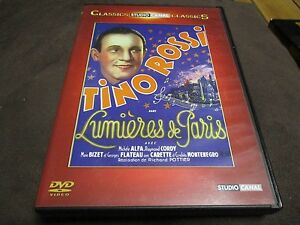 "DVD ""LES LUMIERES DE PARIS"" Tino ROSSI"