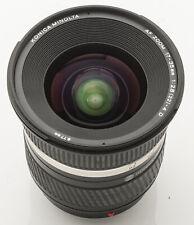 Konica Minolta AF Zoom 17-35mm 17-35 mm 1:2.8(32)-4 D Digital Sony