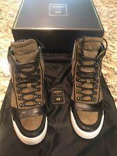100% Authentic Balmain/HM Mens Green Sneakers 41/8.5