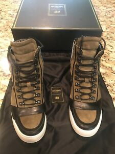 Balmain Suede Casual Shoes for Men for