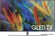 "Samsung 75Q7F 75"" Flat TV QLED HD 4K Ultra HDTV Q7 Q LED HDR New 2017 QN75Q7F"