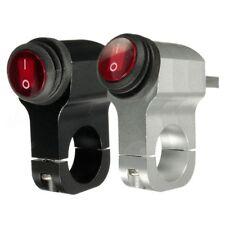 12V 16A Motorcycle Handlebar Headlight Fog Spot Waterproof Light On Off Swi W4X7