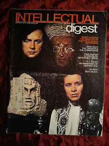 RARE INTELLECTUAL DIGEST March 1973 Robert Masters Jean Houston P. L. Travers