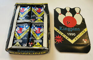 1990 Bowling Kingpins Collect A Card Box of 36 Factory Open Box Sealed Cards