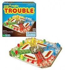 Classic Trouble Board Game, New, Free Shipping