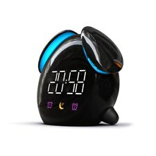 Digital Alarm Clock LED Night Light Display USB Electronic Mini Table Watch