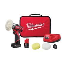 Milwaukee M12 Variable Speed Polisher/Sander Kit w/3.0 &1.5 Batteries 2438-22X