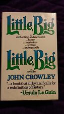 Little, Big by John Crowley 1982 HCDJ First U.K. Edition RARE