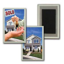 Flip Lenticular Refrigerator Fridge Magnet Real Estate House Sale #MAF-971#