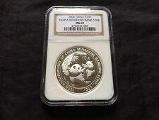 China 2006 S10Y Silver Panda Minsheng Bank Corp. NGC MS-69
