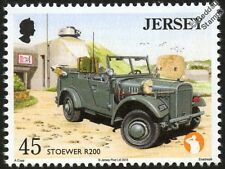 STOEWER R200 Spezial/Special LEPKW Army Military Vehicle WWII War / Car Stamp