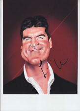 Simon Cowell - signed 8x10