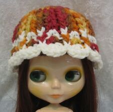 Crochet HAT for BLYTHE Dolls #18 Handmade CAP Multicolored
