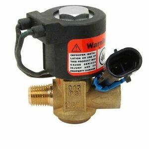 Impco ET98-30515-001 Lock Off Valve FL-219-2 12V LPG Propane Gas Forklift