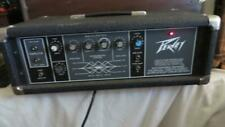 ♬ Vintage Peavey Century 200H Solid State Guitar Amp Head 100 Powers up ♬