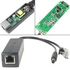 Active PoE Splitter Power Over Ethernet 48V to DC12V Compliant IEEE802.3af 15.4W