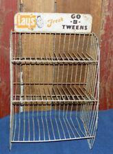Vintage Lay's Go B Tweens Rack Store Metal Display Three Tier Sign Potato Chips
