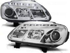 LED FARI ANTERIORI LPVWC3 VW TOURAN 2003 2004 2005 2006 / CADDY CHROME