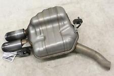 2009 - 2013 AUDI A4 OEM 2.0L ENGINE EXHAUST MUFFLER END PIPE 8K0253611BS *CUT*