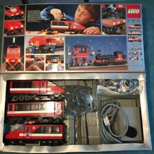 LEGO 7745 Inter City Passenger Railway Train Engine & Carriages Boxed & Working