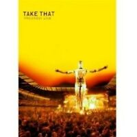 "TAKE THAT ""PROGRESS LIVE"" BLU-RAY NEU"
