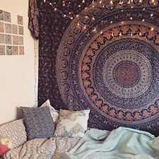 Tapestry Wall Decor Hippie Tapestries Bohemian Mandala Wall Hanging Indian Throw