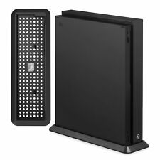 ADZ Vertical Stand for Xbox One X - Non-slip Feet and Cooling Vents X1 Black