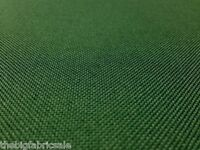 TOUGH WATERPROOF GREEN CANVAS FABRIC MATERIAL COVER CORDURA TYPE !