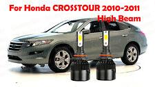 LED For ACCORD CROSSTOUR 2010-2011 Headlight Kit 9005 HB3 CREE Bulbs HIGH Beam