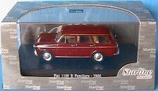 Starline Str51103 Fiat 1100 R Familiare 1966 Red 1 43 Modellino
