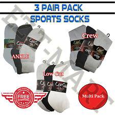 Wholesale Lot . Bulk Athletic Socks Crew , Ankle , Low Cut