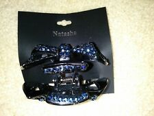 NEW Women Large Hair Claw Clamp Crystal Rhinestone Bow Hair Clip Accessories