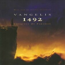 1492: Conquest of Paradise [Music from the Original Soundtrack] by Vangelis (CD, Jul-2000, Warner Bros.)