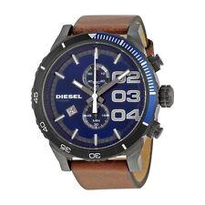 DIESEL DZ4312 Hombre Cronógrafo Reloj De Cuero Doble Abajo 2.0 - 2 Años De Garantía