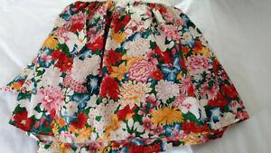 RALPH LAUREN-THOUSAND FLOWERS TWIN FULL QUEEN BEDSKIRT DUST RUFFLE-COLORFUL