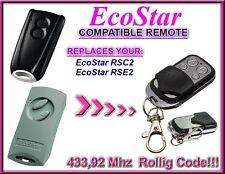 Ecostar RSC2 / Ecostar RSE2 compatible télécommande 433,92Mhz
